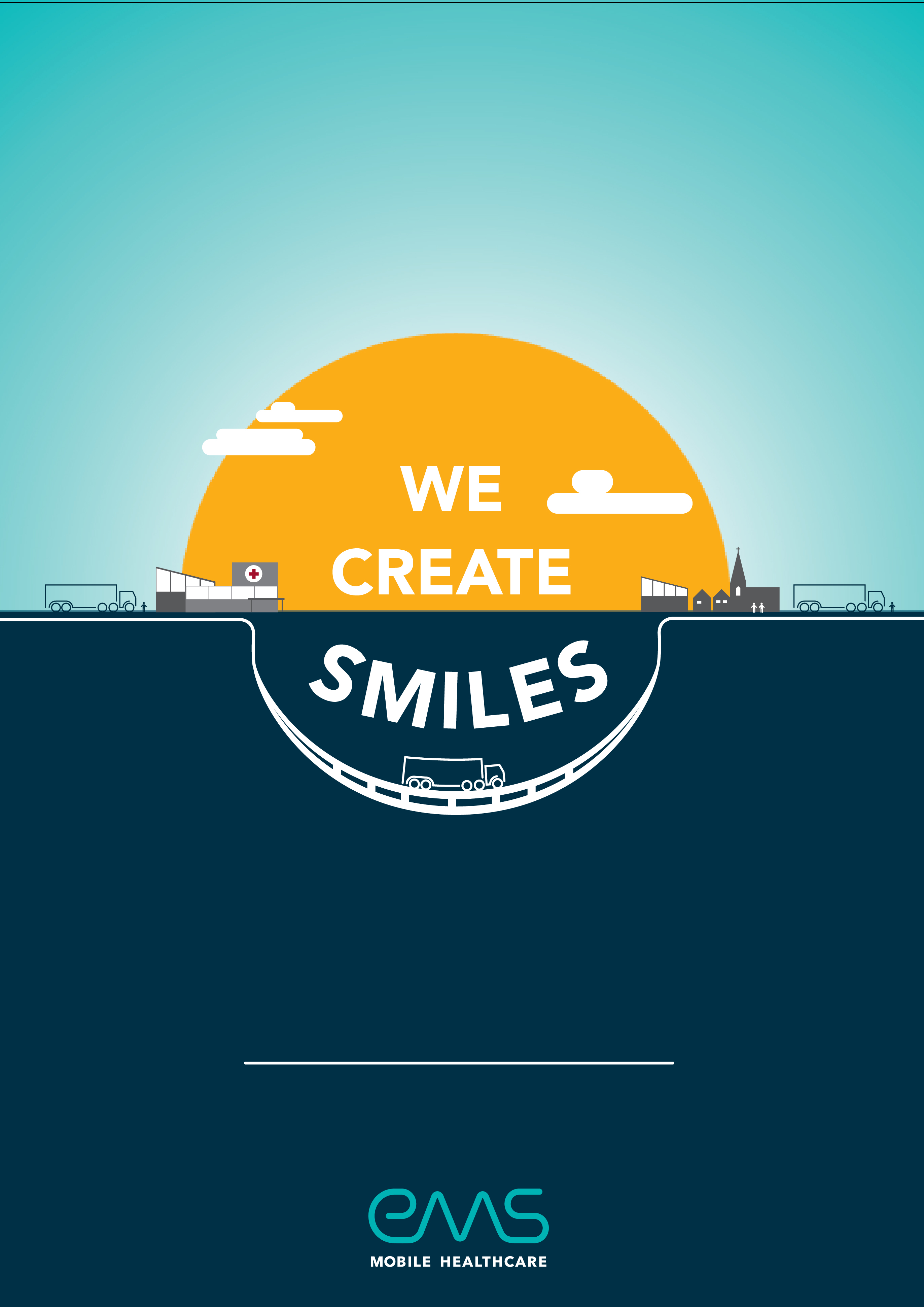We create smiles