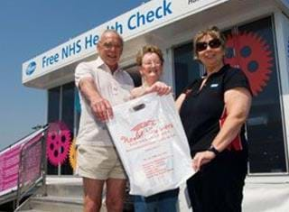 Nhs Health Check Bus