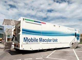 Mobile Macular Unit Medical Trailer