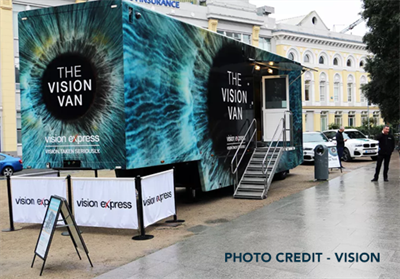 Vision Express Roadshow