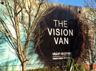 All Eyes On Vision Express Banner