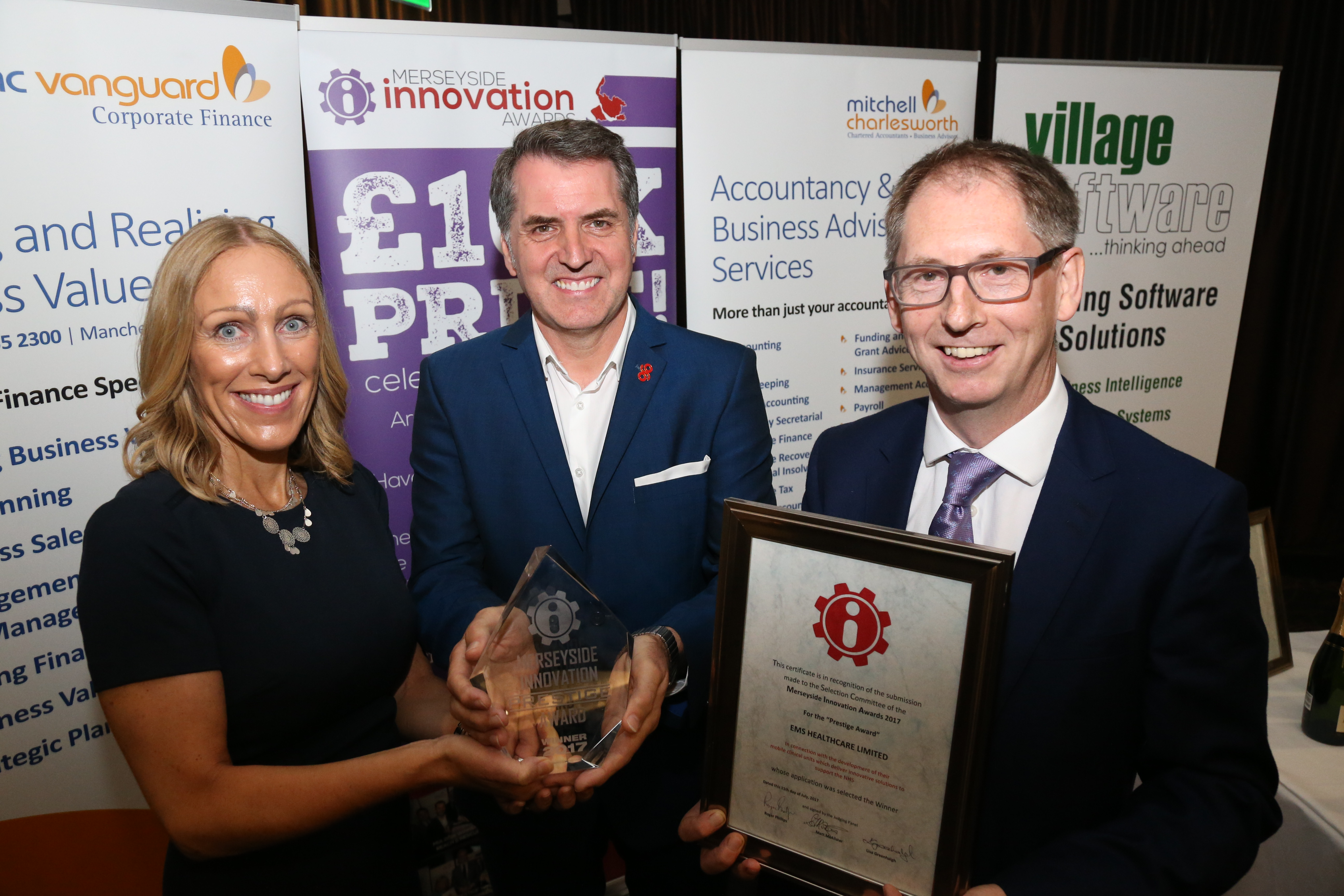 EMS Healthcare at the Innovation Awards