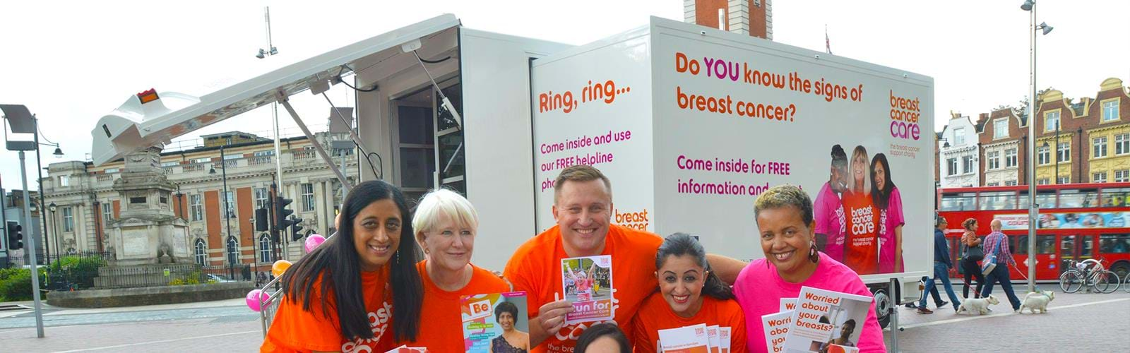 Breast Cancer Care Roadshow Truck B11