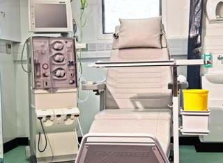 Dialysis Treatment Trailers King's College Hospital