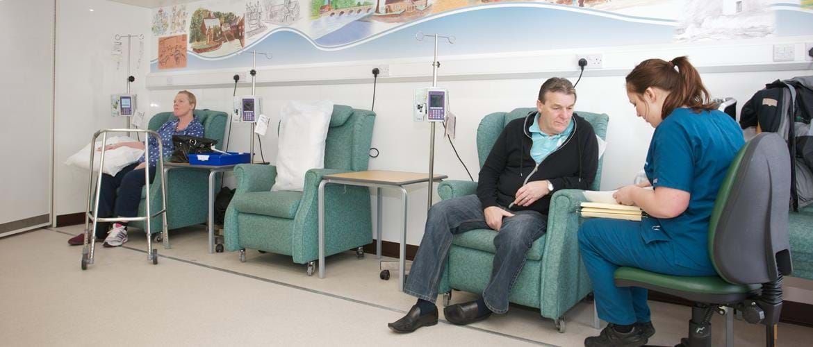 Mobile Chemotherapy Unit Clatterbridge Cancer Centre