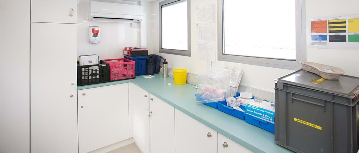 Mobile Chemotherapy Unit Trailer Clatterbridge S5