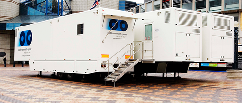 The Eye Site Clinic's Mobile Unit
