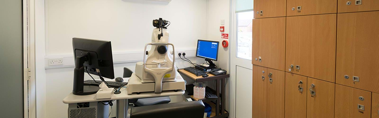 Mobile Macular Unit Trafford Hospital