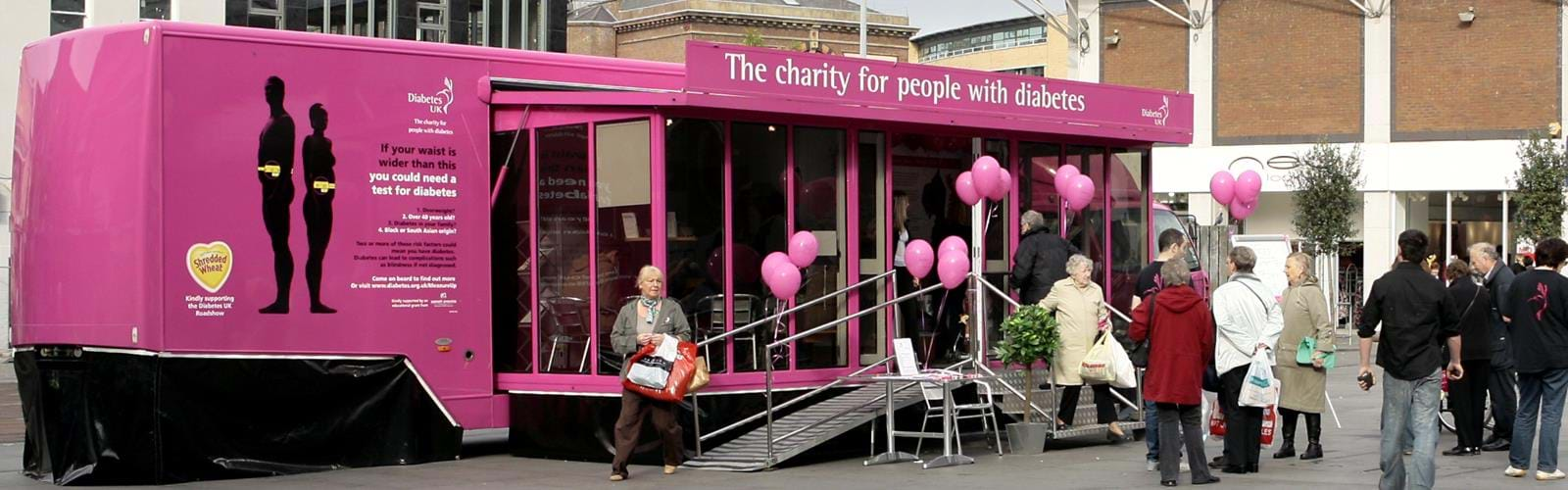 Mobile Health Awareness Unit Diabetes UK (4)