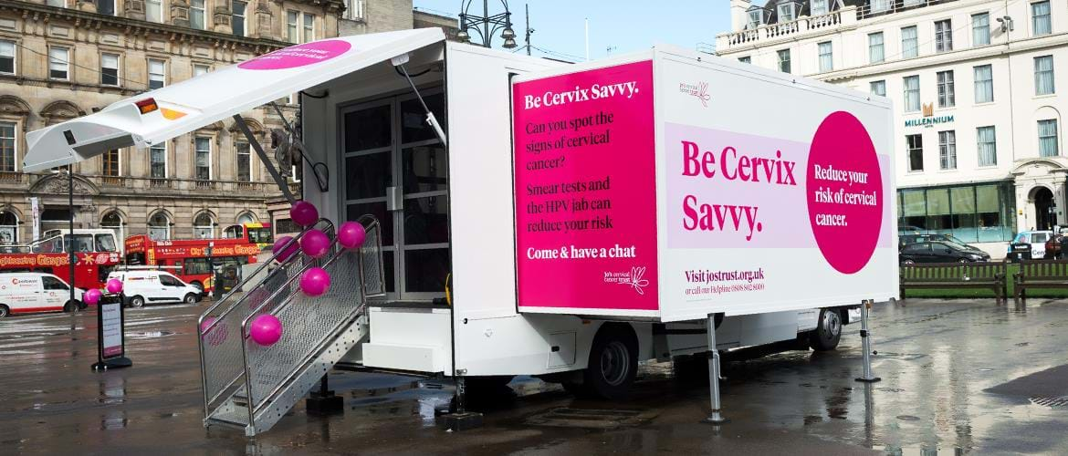 Jo Cervical Cancer Trust Slider 3
