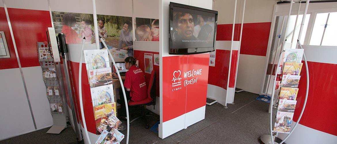 Healthcare Awareness Mobile Unit BHF (7)