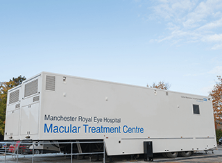 Mobile Macular Unit Interior