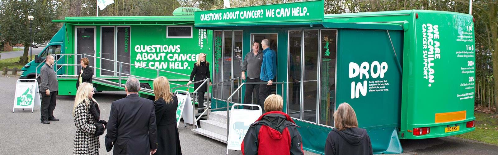 Mobile Cancer Support Unit Macmillian