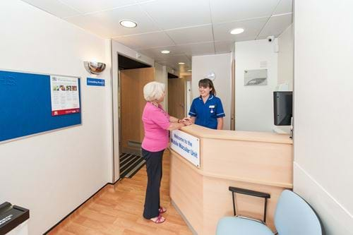Frimley Park Mobile Macular Unit