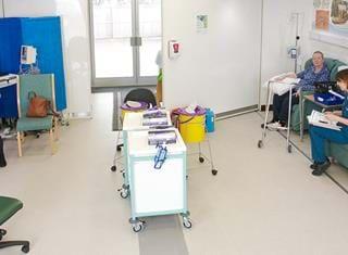 Mobile Chemotherapy Unit Interior