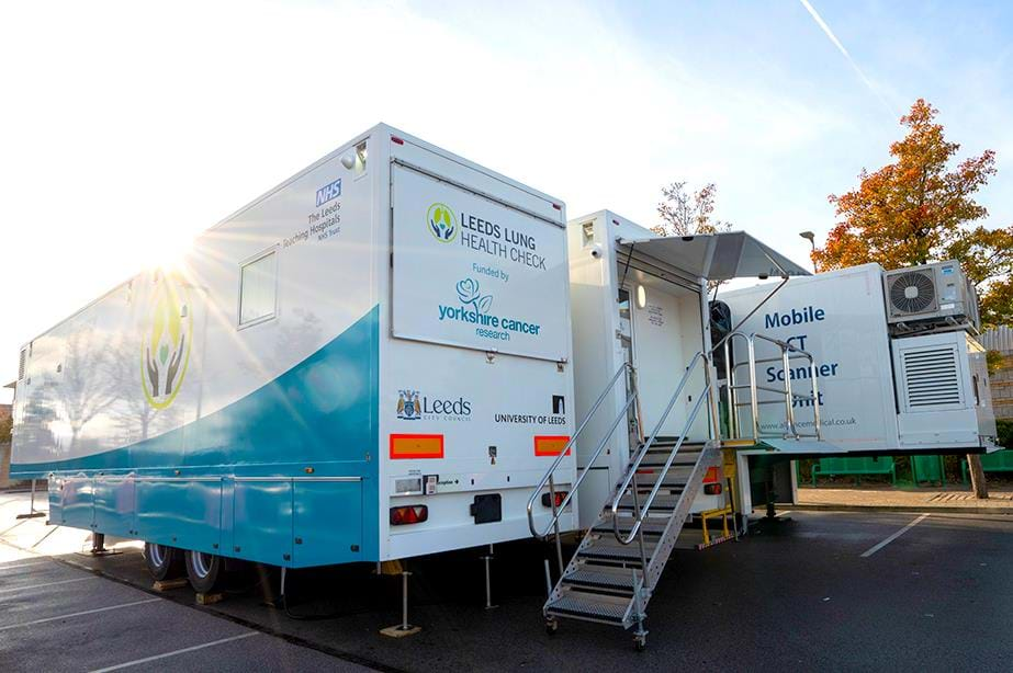 Liberty Lung Screening Unit