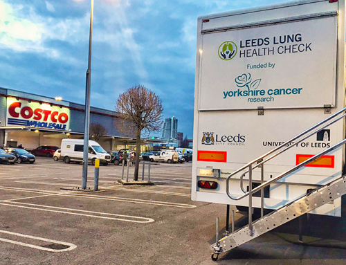 Mobile Lung Scanner in Leeds