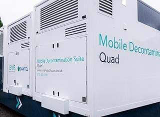 Mobile Decontamination Medical Trailer