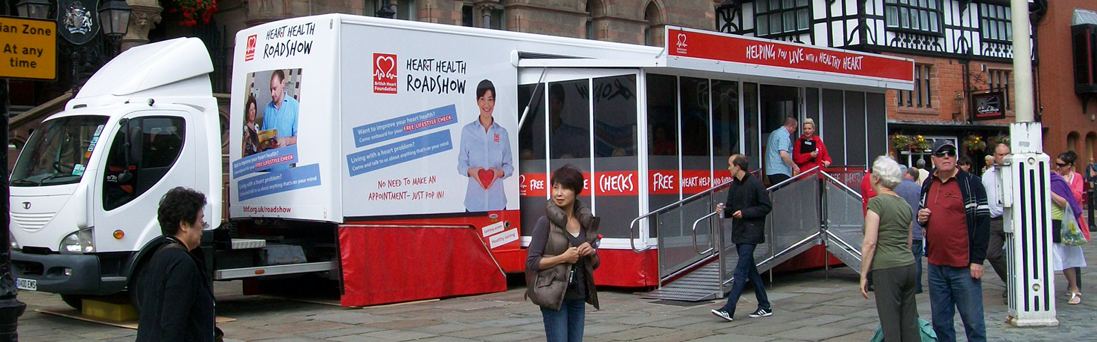 Healthcare Awareness Mobile Unit BHF