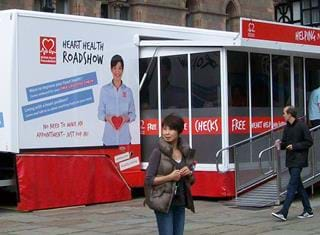Healthcare Awareness Mobile Unit BHF (2)
